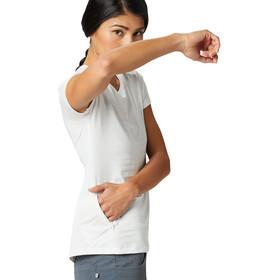 Mountain Hardwear Mighty Stripe Camiseta Manga Corta Mujer, blanco